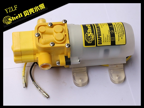 Yellow smart thread anti-shield diaphragm pump