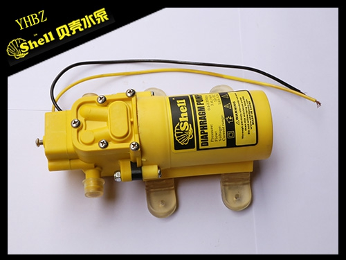 Yellow return standard port diaphragm pump