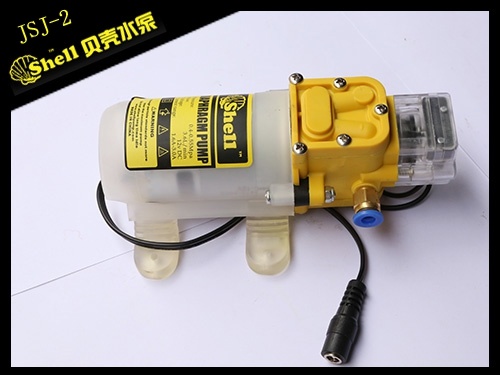 Booster pump of water purifier